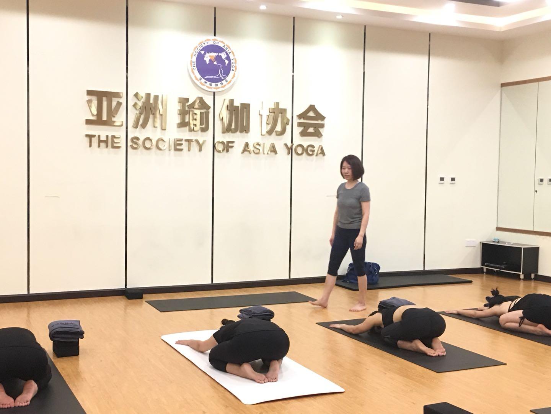 亚协体育就业指导中心首届瑜伽公开课完美结束!
