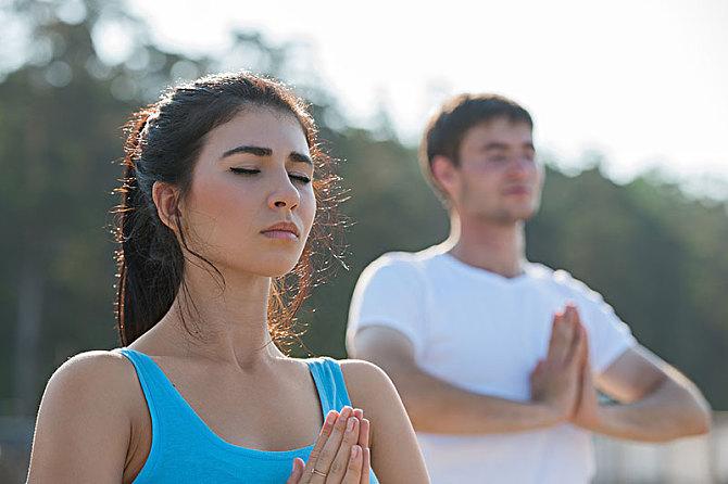 亚协体育学员瑜伽故事