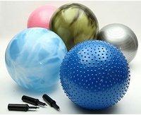 瑜伽球充气怎么做?