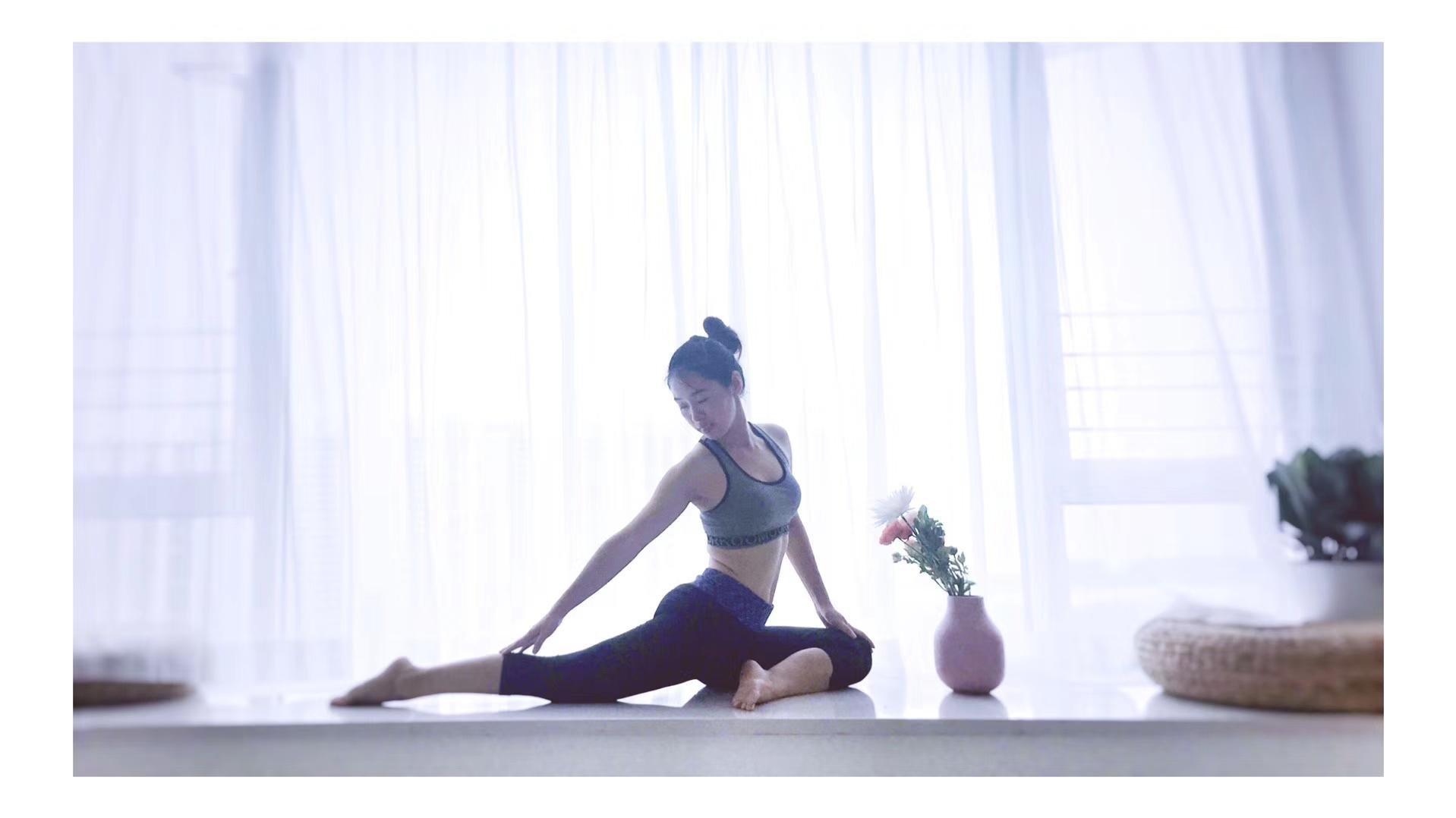 一张垫子瑜伽馆开业!