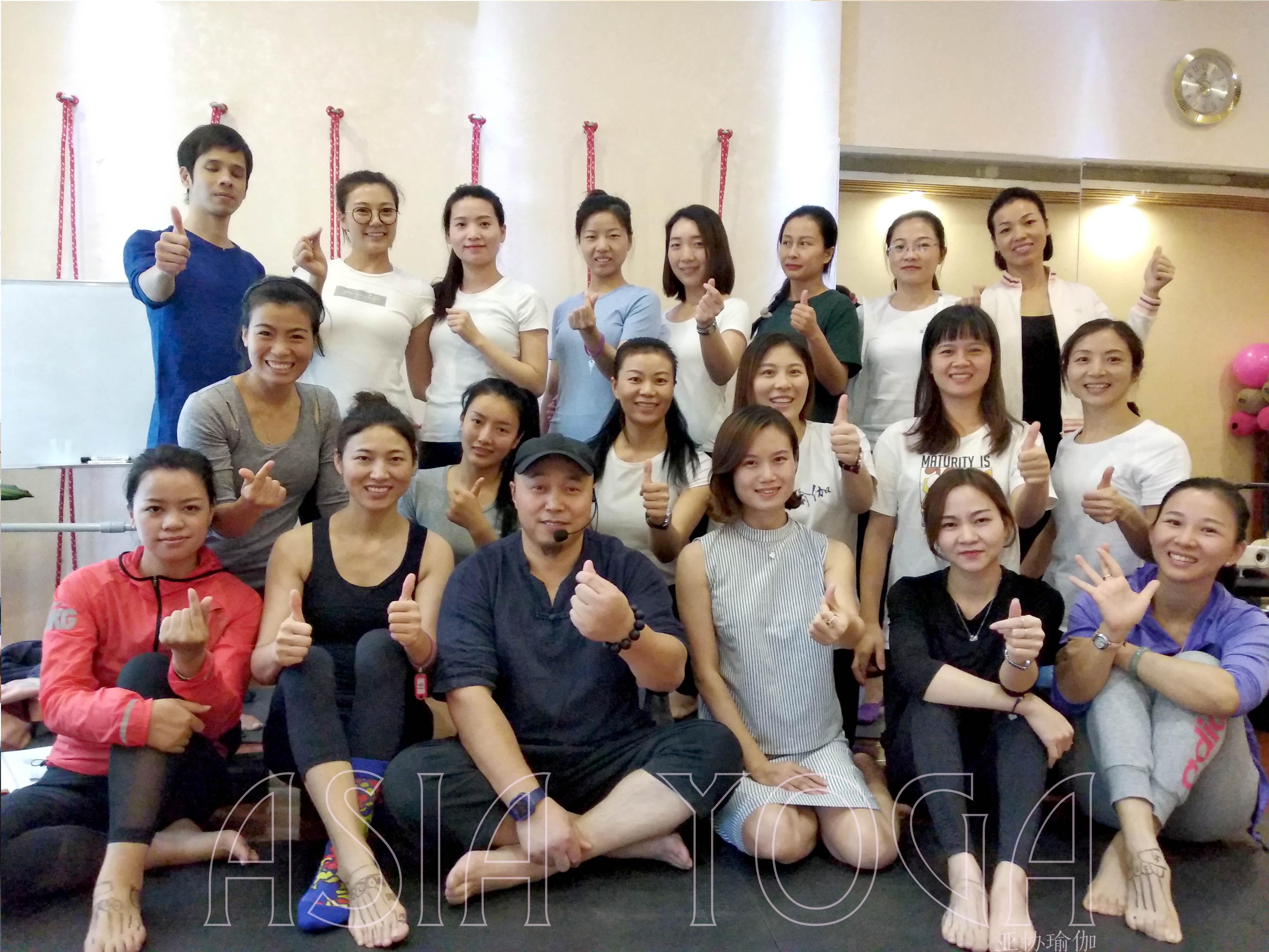 【亚协瑜伽第4期康复训练私教开班纪念】