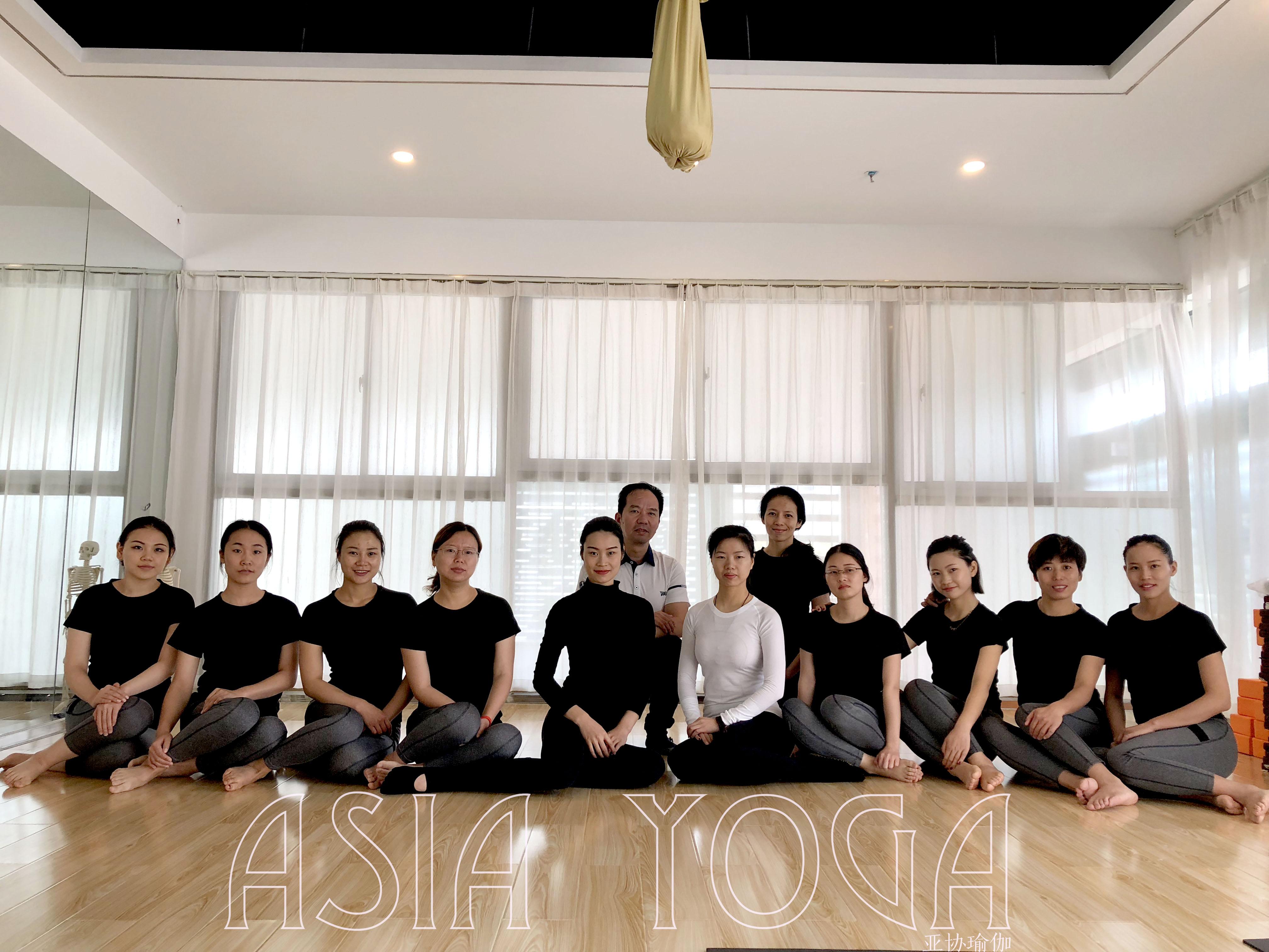 深圳亚协瑜伽第226届瑜伽教练培训班开班大吉!