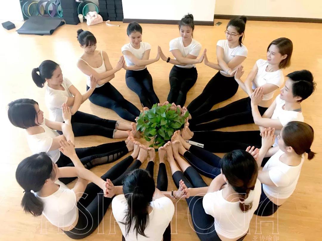 深圳亚协瑜伽【瑜伽教练培训全日制班】2019年1月10日开班!