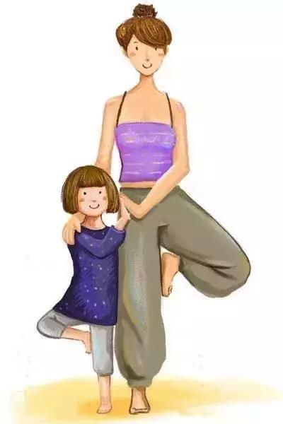 树式亲子瑜伽