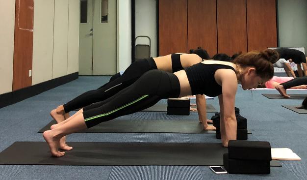 瑜伽心语:我享受的是练习瑜伽的过程